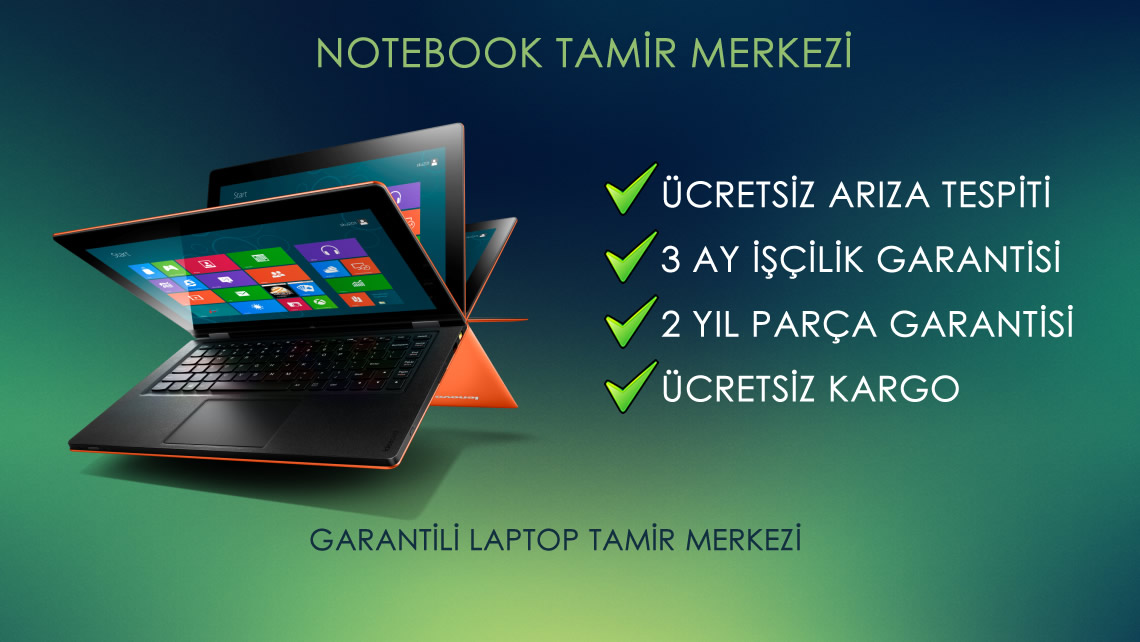 notebook tamiri